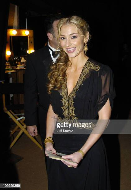 Drea de Matteo during The 56th Primetime Emmy Awards The Architectural Digest Green Room at The Shrine Auditorium in Los Angeles California United...