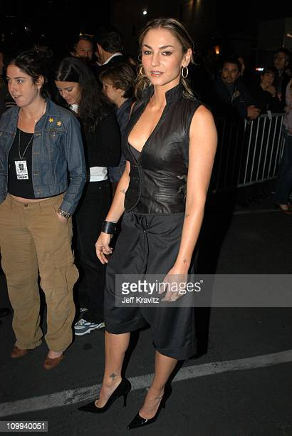 Drea de Matteo during VH1 Big in 2002 Awards Arrivals at Grand Olympic Auditorium in Los Angeles CA United States