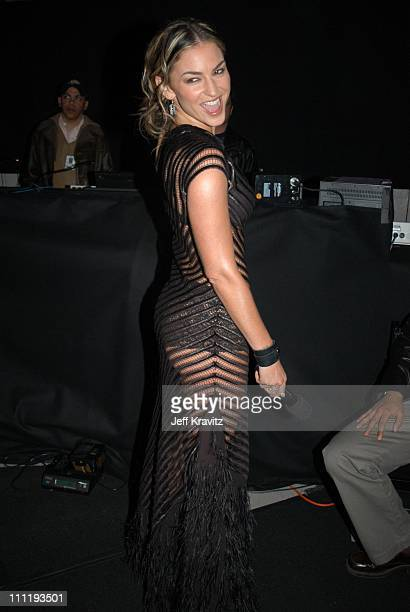 Drea de Matteo during VH1 Big in 2002 Awards Backstage and Audience at Grand Olympic Auditorium in Los Angeles CA United States