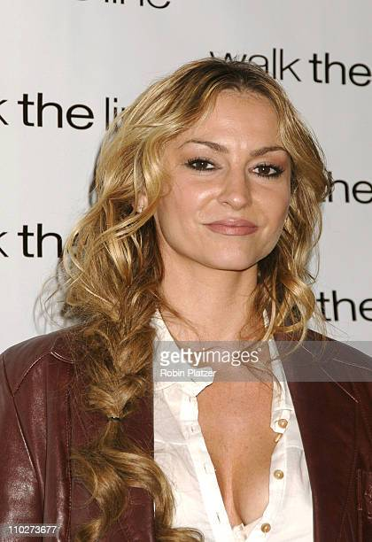 Drea De Matteo during Walk the Line New York City Premiere Arrivals at Beacon Theatre in New York New York United States