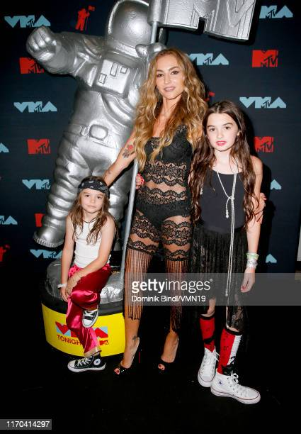 Drea De Matteo poses backstage during the 2019 MTV Video Music Awards at Prudential Center on August 26 2019 in Newark New Jersey