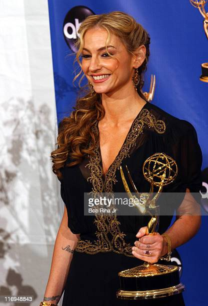 Drea de Matteo winner of Outstanding Supporting Actress in a Drama Series for The Sopranos