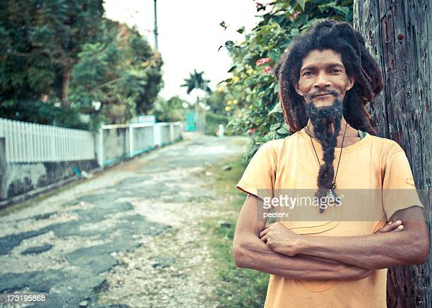 dreadlock portrait - jamaican culture stock pictures, royalty-free photos & images