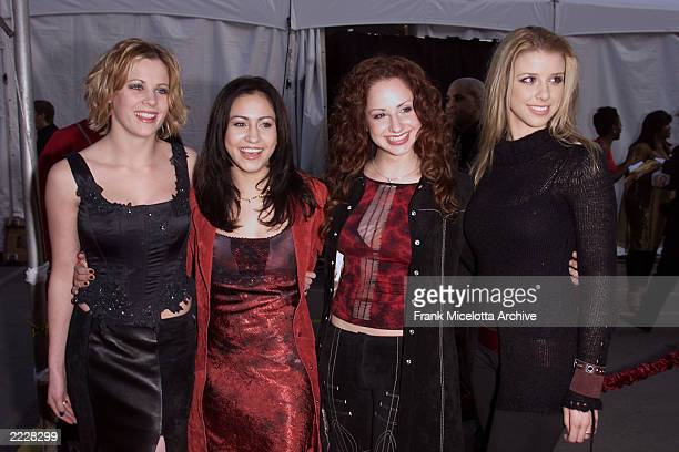 Dream arrives at the 29th Annual American Music Awards held at the Shrine Auditorium in Los Angeles CA Wed January 9th 2001