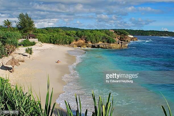 Dream Beach in Lembongan Island near Bali