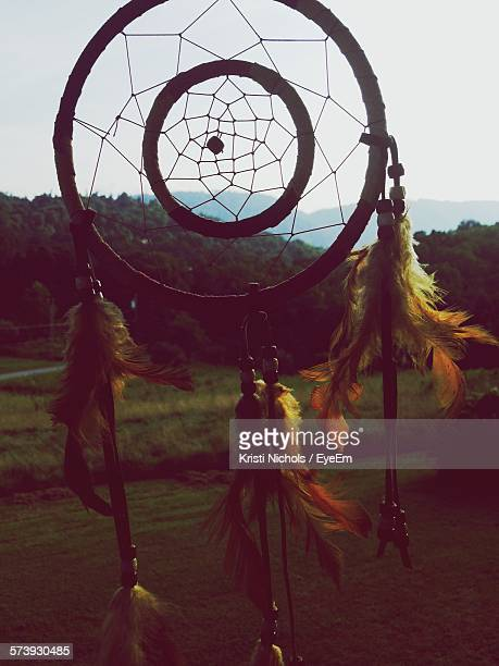 Dream Catcher Against Sky