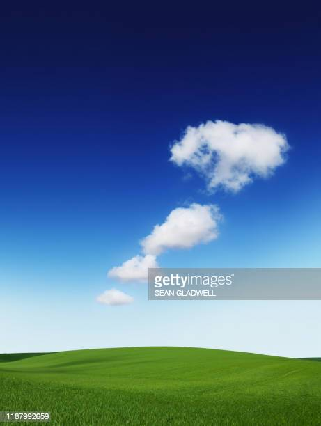 dream clouds - clear sky stock pictures, royalty-free photos & images