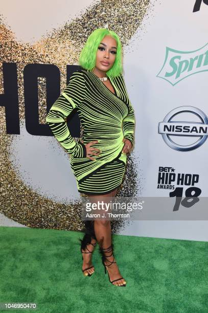 Dream Doll arrives to the BET Hip Hop Awards at the Fillmore Miami Beach on October 6 2018 in Miami Beach Florida