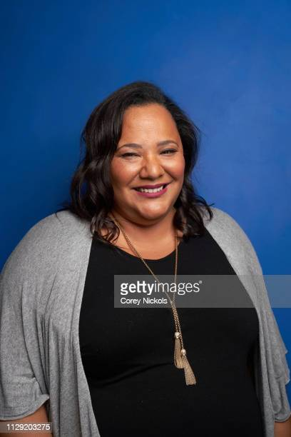 Dream Hampton of BET's 'Finding Justice' poses for a portrait during the 2019 Winter TCA at The Langham Huntington Pasadena on February 11 2019 in...