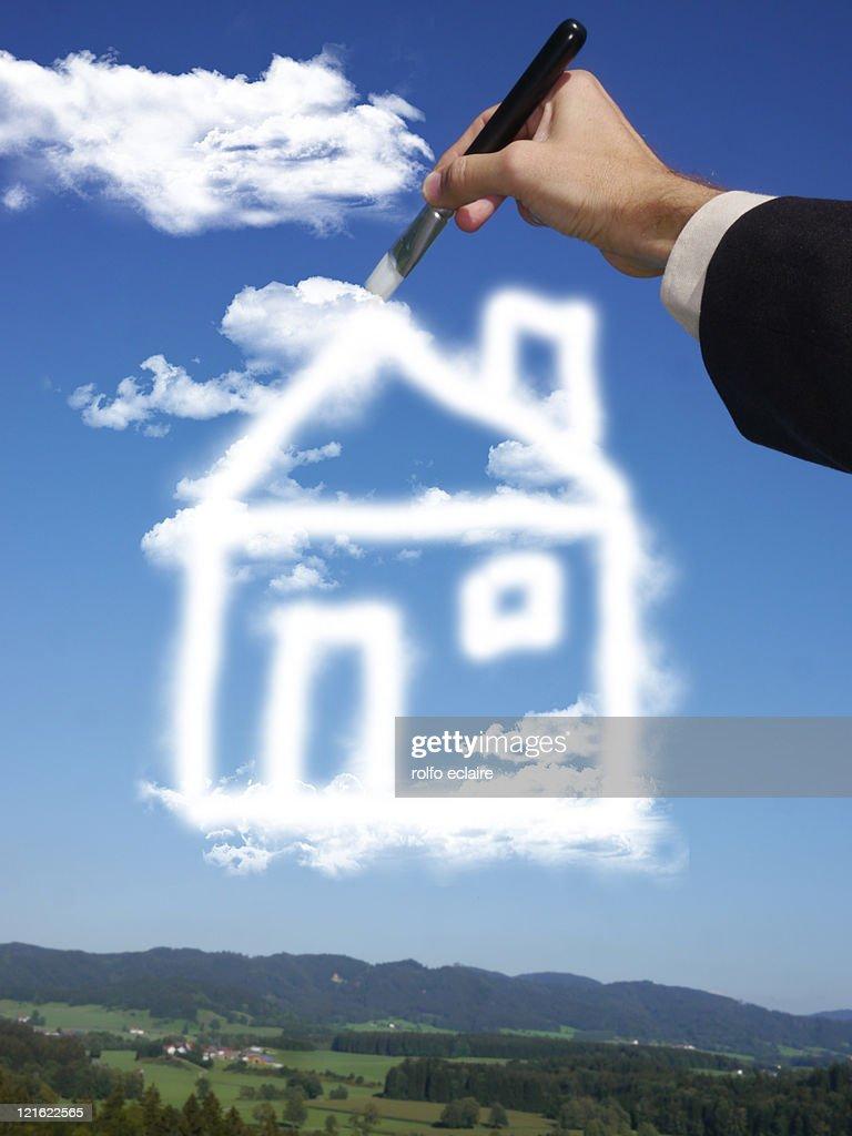 Dream house : Stock Photo