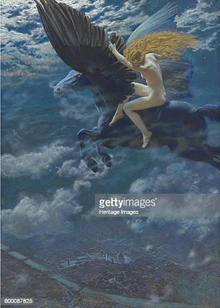 Dream Idyll c 1902 Private Collection Artist Hughes Edward Robert