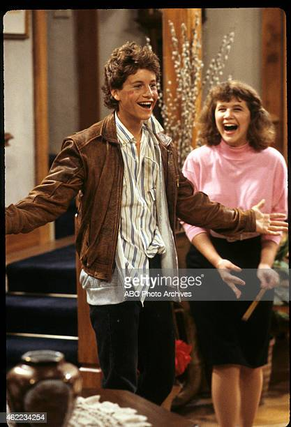 """Dream Lover"""" - Airdate: November 25, 1986. KIRK CAMERON;TRACEY GOLD"""