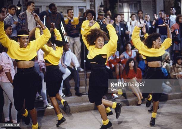 WORLD 'Dream Lover' Episode 4 Aired 11/3/88 Pictured Dawnn Lewis as Jaleesa Vinson Taylor Cree Summer as Winifred 'Freddie' Brooks Jasmine Guy as...