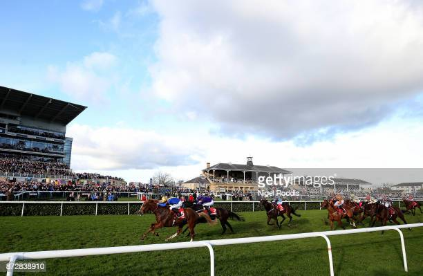 Dream of Dreams ridden by Jim Crowley wins The Betfred Mobile Wentworth Stakes at Doncaster Racecourse on November 11 2017 in Doncaster England