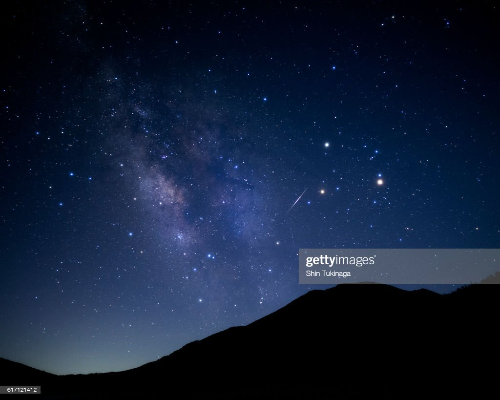 Dream of galaxy : Stock Photo