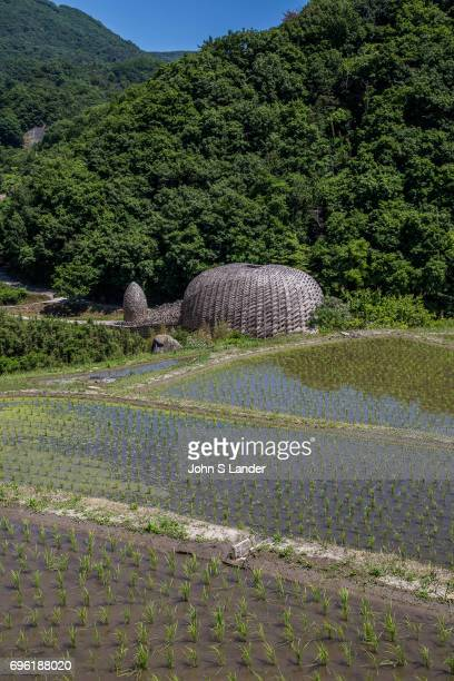 Dream of Olive by artist Wang Wen Chih is a large dome made of over locally grown bamboo The theme is olives which is the chief product from...