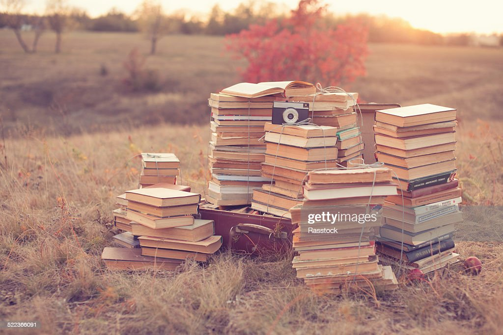 Dream of well read. Hipster dream : Stock Photo