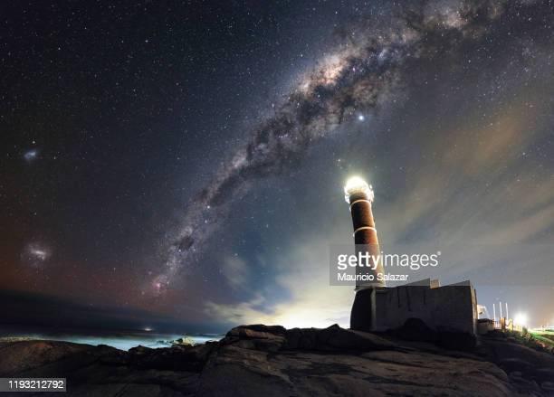 dream - jose ignacio lighthouse stock pictures, royalty-free photos & images