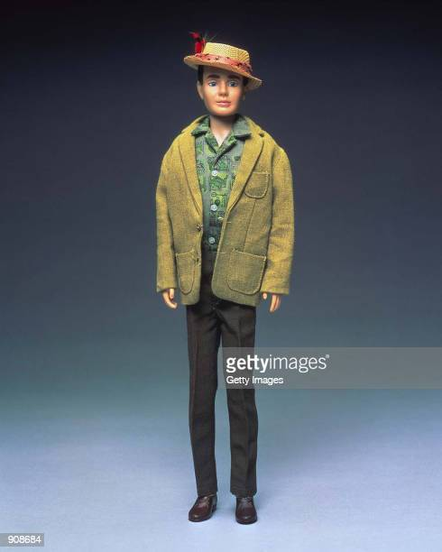 A Dreamboat Ken doll from 1962 wears a straw hat in this studio portrait On March 13 Mattel toy company celebrated the 40th anniversary of the Ken...