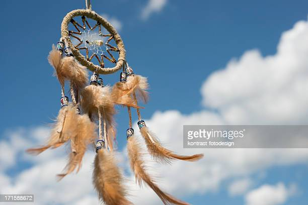 Dreamcatcher against great cloudscape
