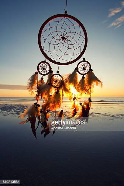 Dreamcatcher at sunrise
