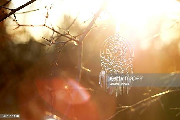 Dreamcatcher in the nature