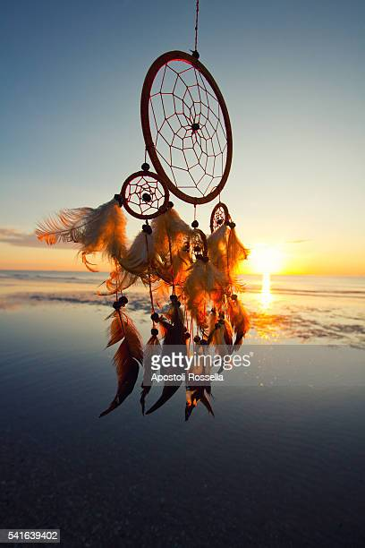 Dreamcatcher on the sea