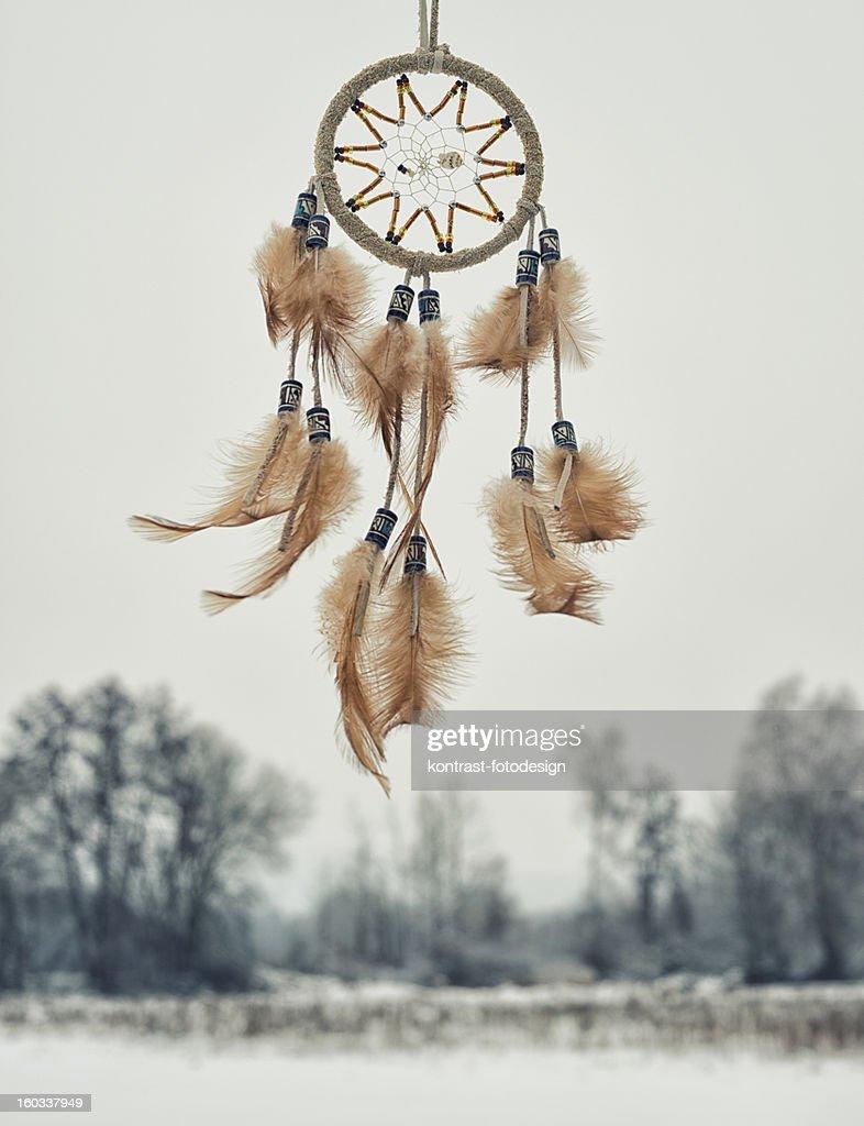 Dreamcatcher, Winter : Stock Photo
