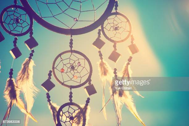 dreamcather - dreamcatcher stock pictures, royalty-free photos & images