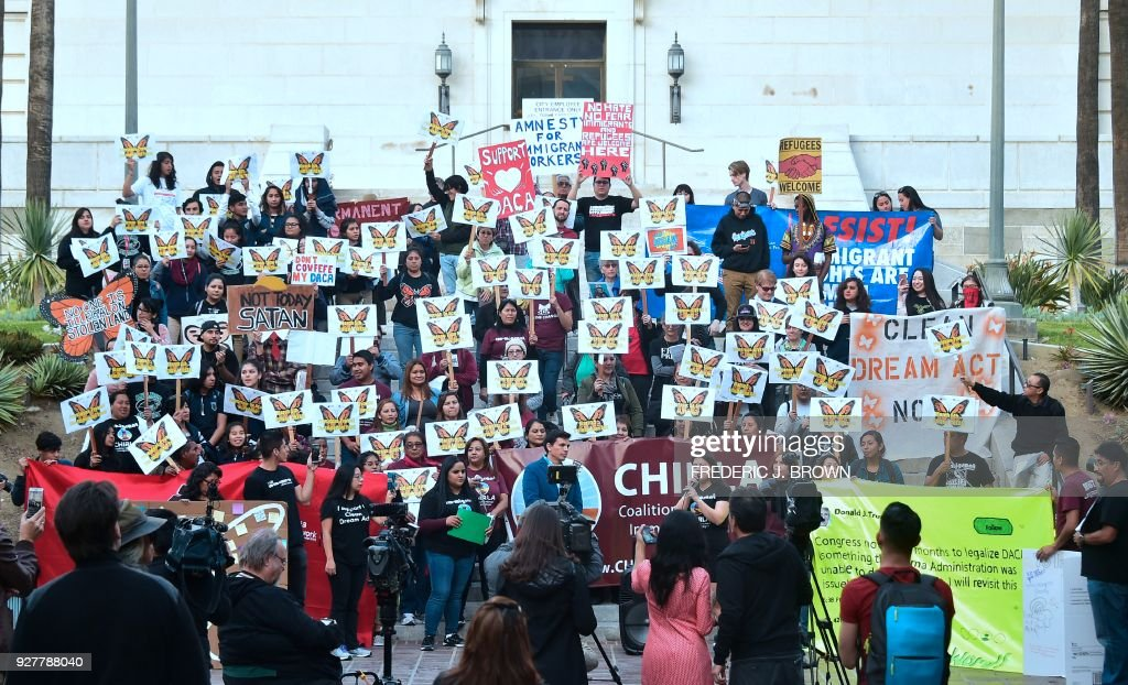 US-IMMIGRATION-DREAMERS-RALLY : News Photo