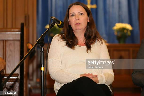 Dreamers Creative Writing Site Etitor-in-Chief Kat McNichol attends Listen and Learn at Kingston Road United Church on December 8, 2019 in Toronto,...