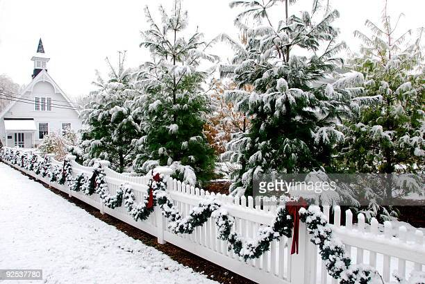 dreaming of  a white christmas - connecticut stock pictures, royalty-free photos & images