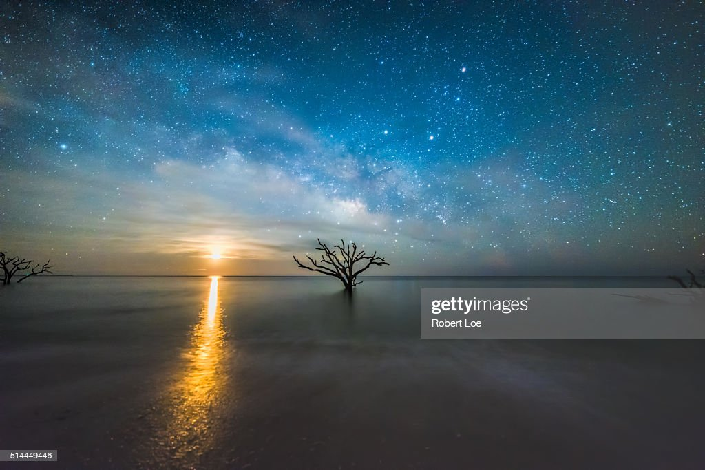 dreaming of the milky way : Stock Photo