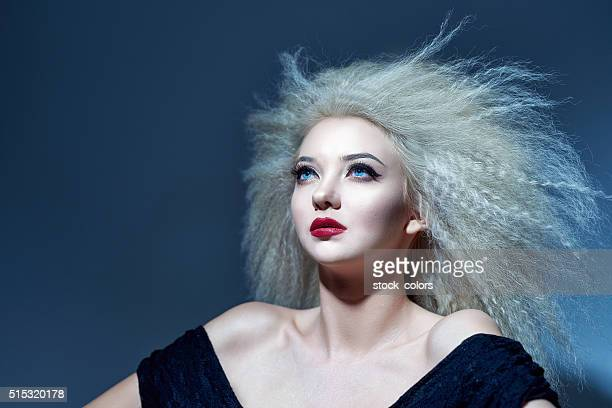 dreaming of you - big hair stock pictures, royalty-free photos & images