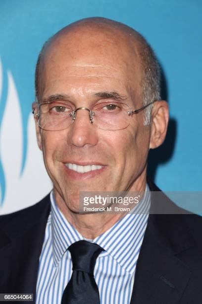 DreamWorks Animation CEO Jeffrey Katzenberg attends The Simon Wiesenthal Center's 2017 National Tribute Dinner at The Beverly Hilton Hotel on April 5...