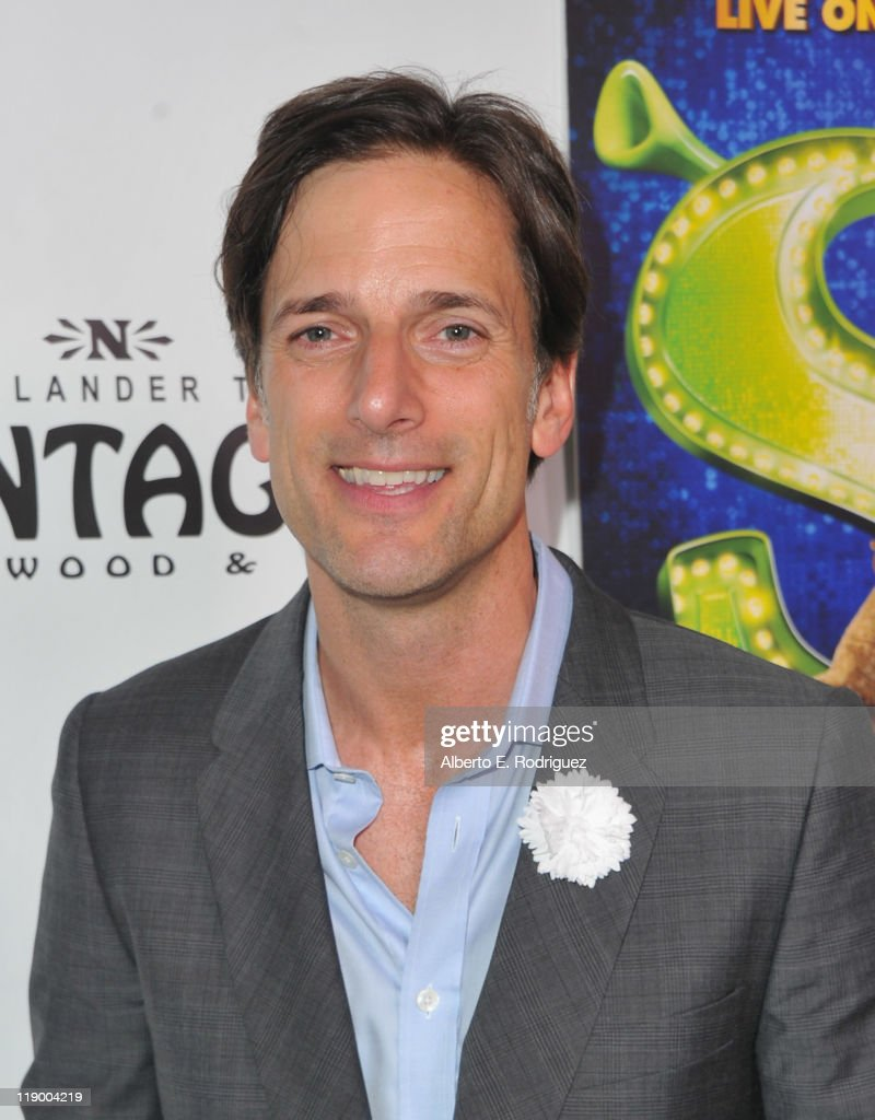 Dreamworks Animation Chief Creative Officer Bill Damaschke arrives to the Los Angeles Opening Night of 'Shrek The Musical' at the Pantages Theatre on July 13, 2011 in Hollywood, California.