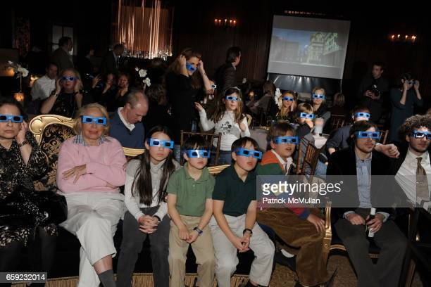 Dreamworks Presents 'MONSTERS VS ALIENS' 3D Super Bowl Commercial attends SUPER BOWL Party at The Oak Room on February 1 2009 in New York City
