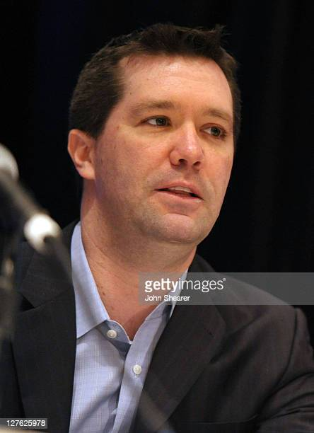 DreamWorks Studios' president and CEO Jeff Small attends Variety's 2011 Film Finance Forum presented by Winston Baker held at the Universal Hilton...