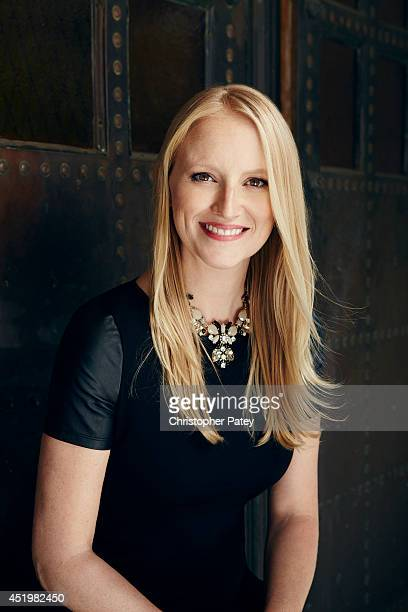 DreamWorks TV head of development Lindsey Springer is photographed for The Hollywood Reporter on November 6 2013 in Hollywood California PUBLISHED...