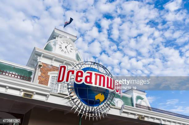 dreamworld gold coast - gold coast queensland stock pictures, royalty-free photos & images