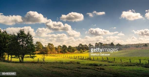 dreamy landscape - central europe stock photos and pictures