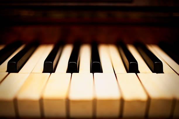 Dreamy Piano Keys Wall Art