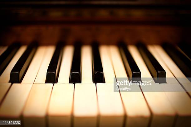 dreamy piano - piano key stock pictures, royalty-free photos & images