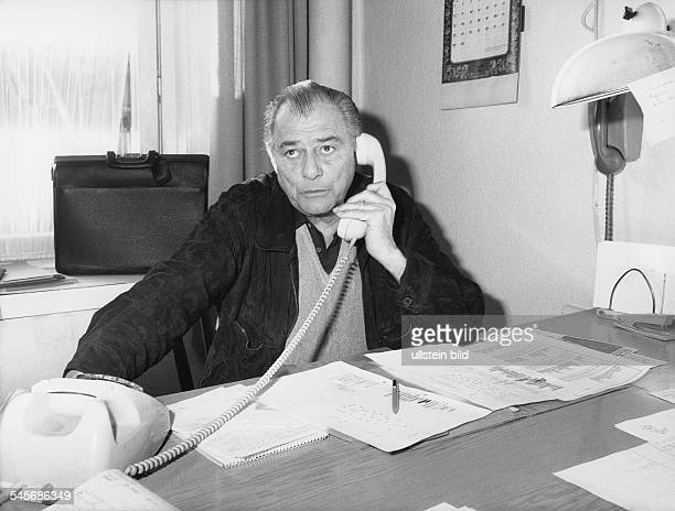 Drechsel Sammy *Sportjournalist Kabarettist D Halbportrait am Telefon 1983