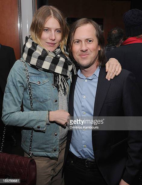 """Dree Hemingway and Blake Ashman-Kipervase attend the Cinema Society And Sandro Present A Special Screening Of """"Starlet"""" After Party at The Lambs Club..."""