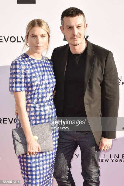 Dree Hemingway and Guest attend the Daily Front Row's 3rd Annual Fashion Los Angeles Awards Arrivals at Sunset Tower Hotel on April 2 2017 in West...