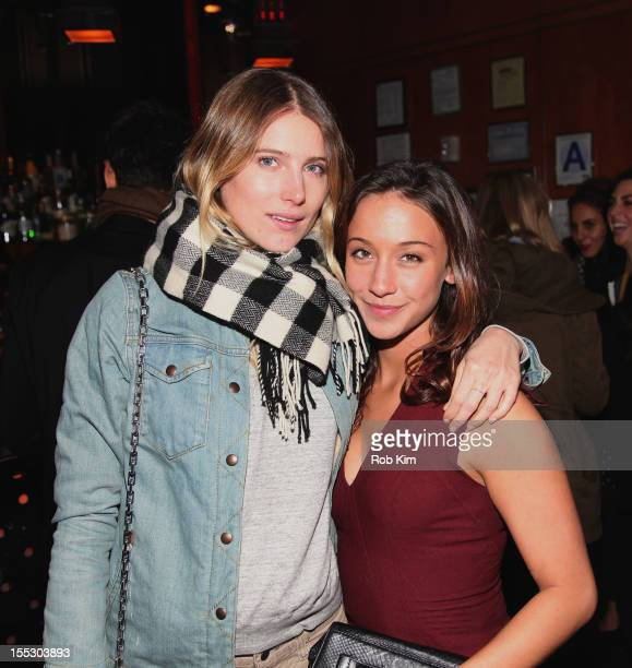 Dree Hemingway and Stella Maeve attend Cinema Society And Sandro Present A Special Screening Of Starlet After Party at The Lambs Club on November 2...