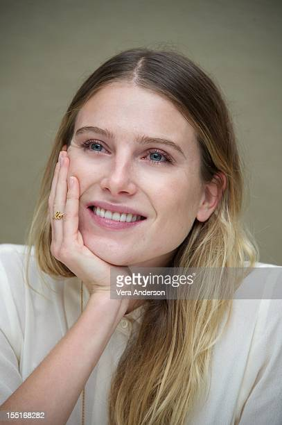 Dree Hemingway at the Starlet Press Conference at The Beverly Hilton Hotel on October 31 2012 in Beverly Hills California