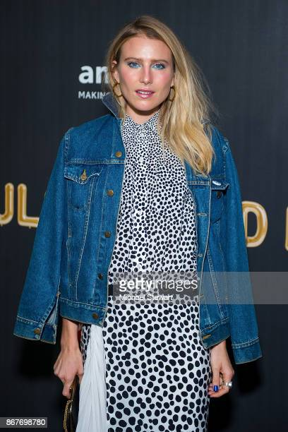 Dree Hemingway attends 2017 amfAR and The Naked Heart Foundation Fabulous Fund Fair at Skylight Clarkson Sq on October 28 2017 in New York City