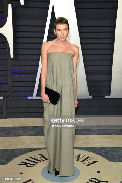 Dree Hemingway attends 2019 Vanity Fair Oscar Party Hosted By Radhika Jones at Wallis Annenberg Center for the Performing Arts on February 24 2019 in...